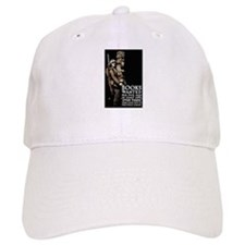 Books Wanted Poster Art Baseball Cap