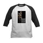 Books Wanted Poster Art Kids Baseball Jersey
