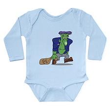 Frankenstein Trick or Treat Long Sleeve Infant Bod