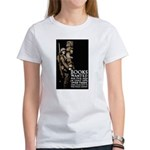 Books Wanted Poster Art (Front) Women's T-Shirt