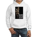 Books Wanted Poster Art Hooded Sweatshirt