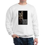 Books Wanted Poster Art Sweatshirt