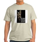 Books Wanted Poster Art Ash Grey T-Shirt