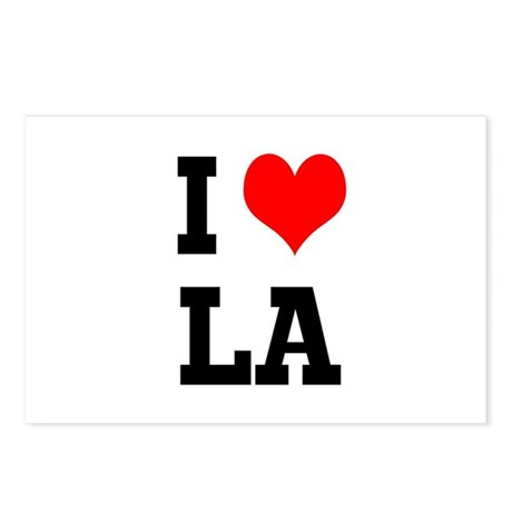 I love LA Postcards (Package of 8)