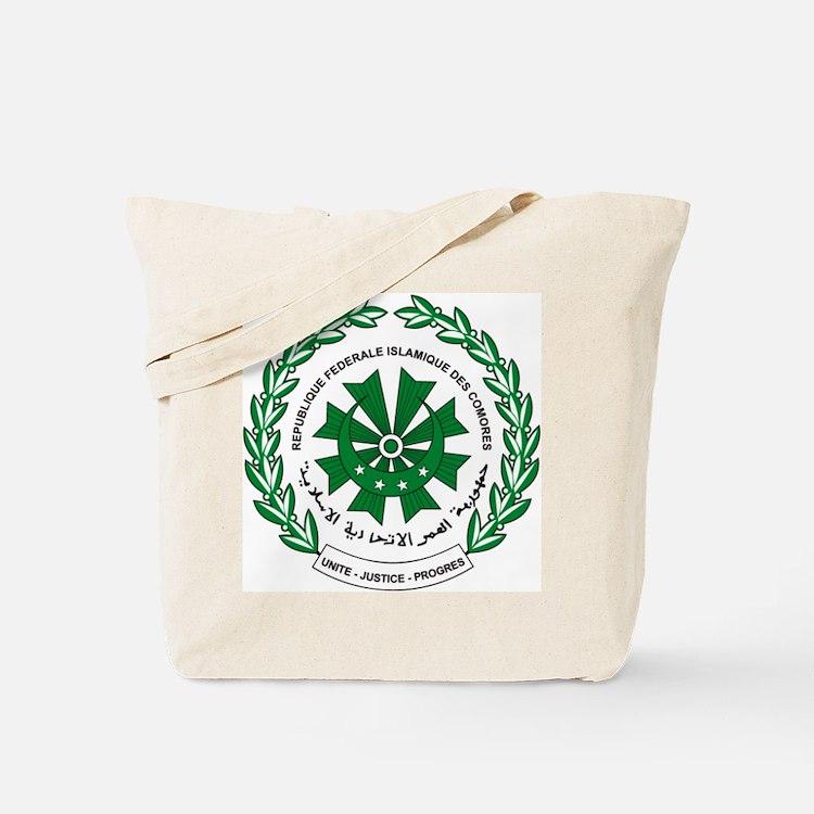Comoros Coat of Arms Tote Bag