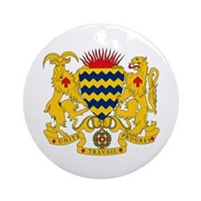 Chad Coat of Arms Ornament (Round)