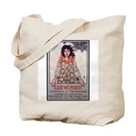 Lest We Perish Famine Tote Bag
