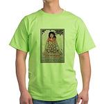 Lest We Perish Famine Green T-Shirt