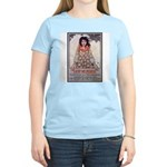 Lest We Perish Famine (Front) Women's Pink T-Shirt
