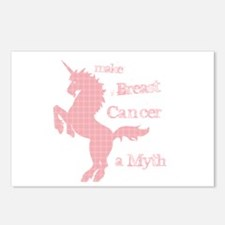 Breast Cancer Myth Postcards (Package of 8)