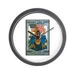 Woman's Land Army Wall Clock