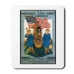 Woman's Land Army Mousepad