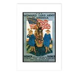 Woman's Land Army Postcards (Package of 8)
