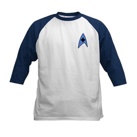 Star Trek Medical Kids Baseball Jersey