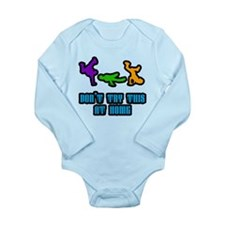 Don't Try This Long Sleeve Infant Bodysuit