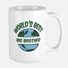 World's Best Big Brother Mugs