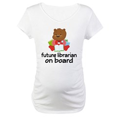 Future Librarian On Board Shirt