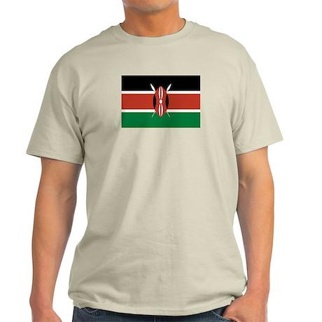 Kenya Ash Grey T-Shirt