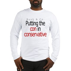 Con in conservative Long Sleeve T-Shirt