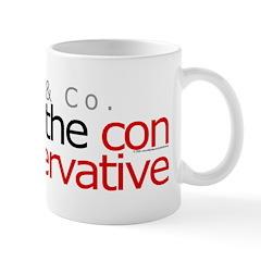 Con in conservative Mug