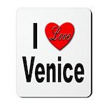 I Love Venice Italy Mousepad