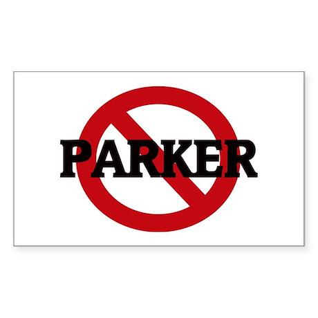 Anti-Parker Rectangle Sticker