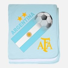 Argentina world cup soccer Infant Blanket