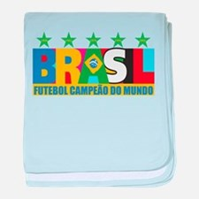 Brazilian World cup soccer Infant Blanket