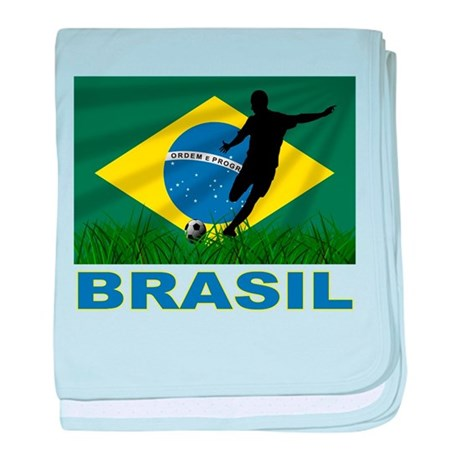 Brazilian World cup soccer Infant Blanket