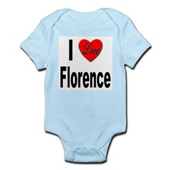 I Love Florence Italy Infant Creeper