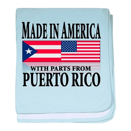 Puerto RICAN Infant Blanket