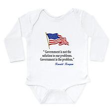 Tea party Revolt Long Sleeve Infant Bodysuit