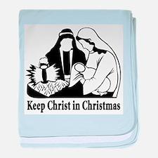 Keep Christ in Christmas Infant Blanket