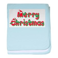 Merry Christmas Infant Blanket