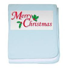 Merry Christmas Infant Blanket