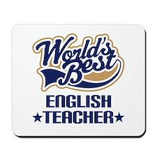 Worlds Best English Teacher Mousepad