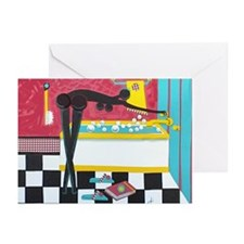 """""""Running the Bath"""" Greeting Cards (Pk of 10)"""