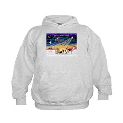Xmas Sunrise - Five Dogs Hoodie