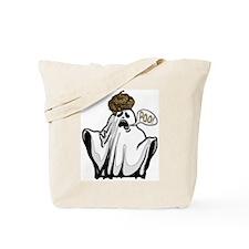 Ghost Goes Poo Tote Bag