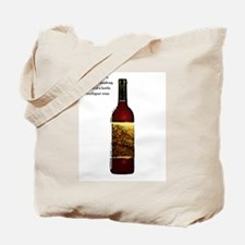 Ode To Wine Tote Bag