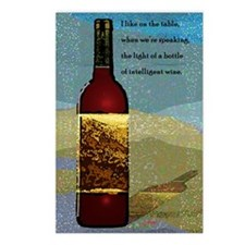 Ode To Wine Postcards (Package of 8)