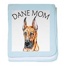 Brindle Dane Mom Infant Blanket