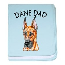 Brindle Dane Dad Infant Blanket