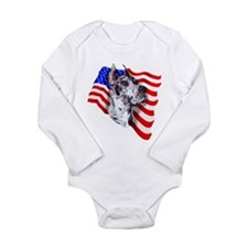 Patriot Dane Merle Long Sleeve Infant Bodysuit