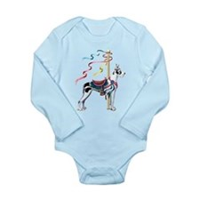 Great Dane Harle Carousel Long Sleeve Infant Bodys