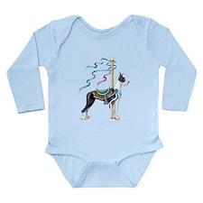 Great Dane Mantle Carousel Long Sleeve Infant Body