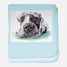 Great Dane Taped Merle Infant Blanket