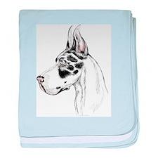 Great Dane HS HLQN Crop (fem) Infant Blanket