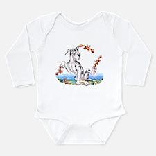 Great Dane Harle Crabby Long Sleeve Infant Bodysui