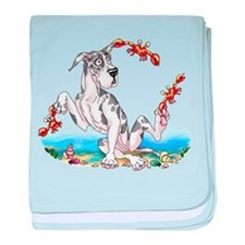 Great Dane Harle Crabby Infant Blanket